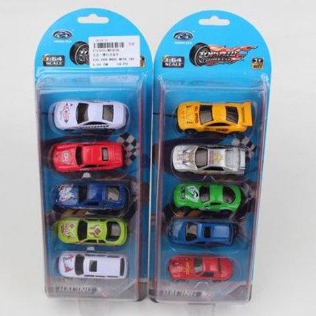 Машинки металлические (5 шт. в упак.), на блист. 32*11,5*3,5 см.