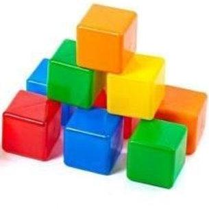 Набор кубиков-2 (10 шт), в пакете, 45*18*9 см