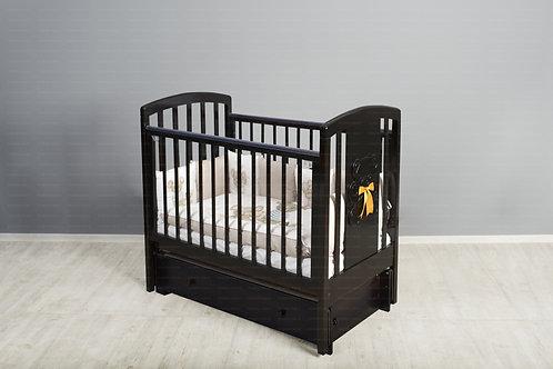 Кроватка Incanto Hugge, маятник универсальный / ящик