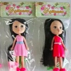 """Кукла """"Катенька"""" 17,5 см , с аксессуарами, в ассортименте, в пакете"""