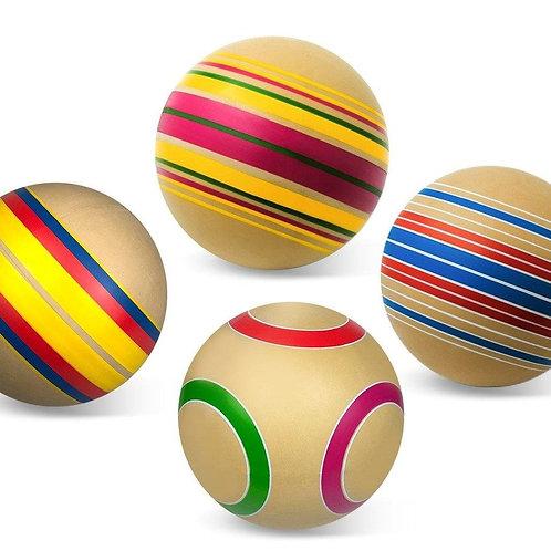 "Мяч д. 200 мм. ЭКО ""Дорожки"" ручное окрашивание"