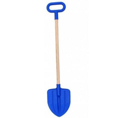 Лопата детская штыковая с деревянной ручкой 70-75*15-3 см.