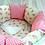 """Thumbnail: Комплект в кроватку AB Prima """"Мороженки"""", розовый"""