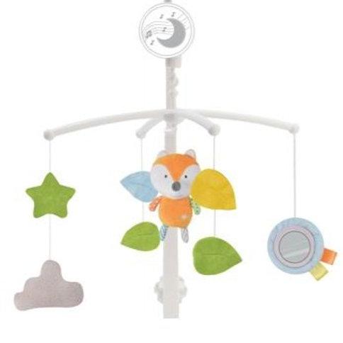 Музыкальная карусель для кроватки заводная, 5 подвесных игрушек, колыбельн