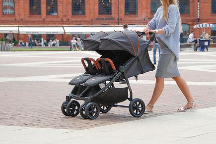Купить коляску для двойни в Воронеже, купить коляску для погодок в Воронеже, Coletto Enzo Twin Воронеж