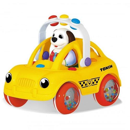 """Машинка """"Ватрушка. Такси"""", 19*14*18 см."""