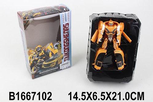 Робот-трансформер, в/к 21*14,5*6,5 см.