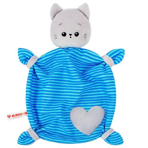 """Игрушка-комфортер """"Мякиши. Котёнок Кекс"""", 25*42*5 см."""