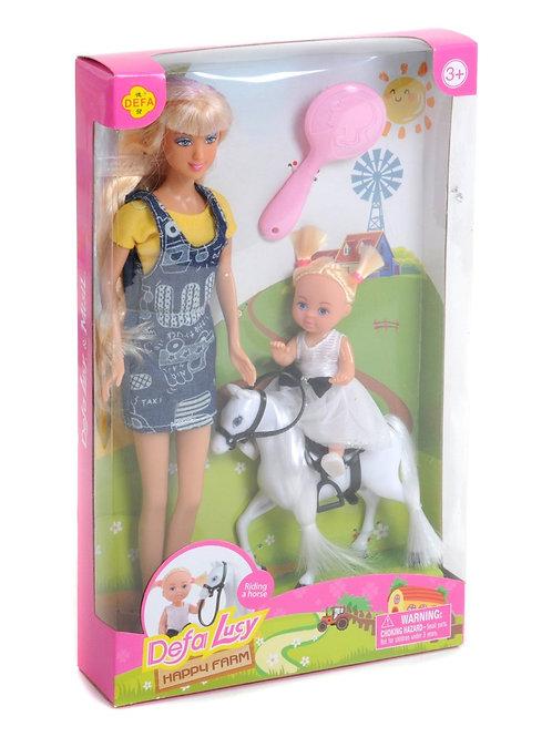 """Куклы """"Defa"""" с аксесс. в/к 19*5.5*31 см."""
