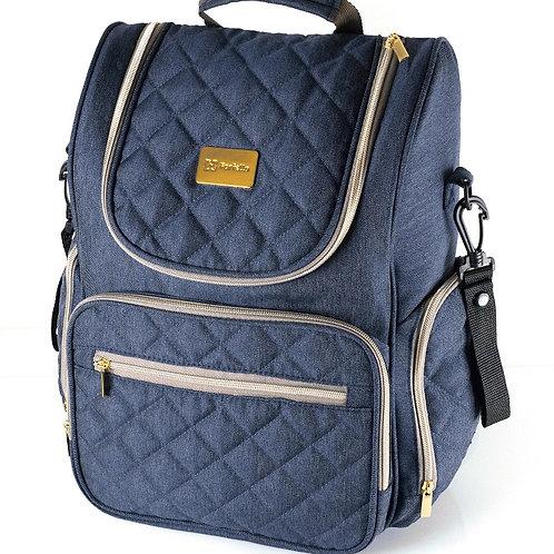 Рюкзак для мамы на коляску Farfello F3, синий