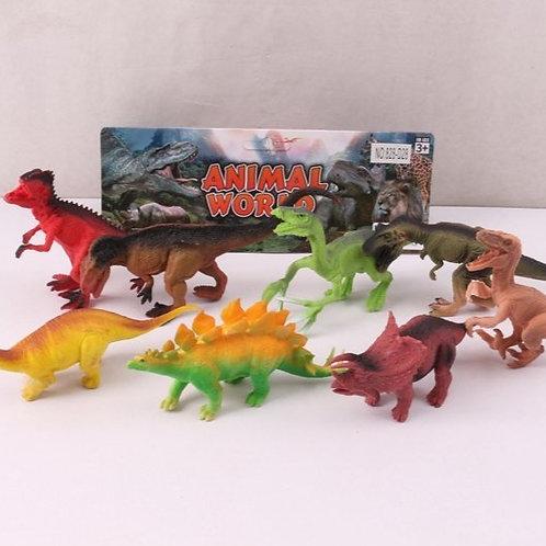 """Набор """"Динозавры"""" в/п 25 см."""