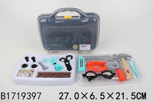 """Набор """"Инструменты"""", в чемодане 27*6,5*21,5 см."""
