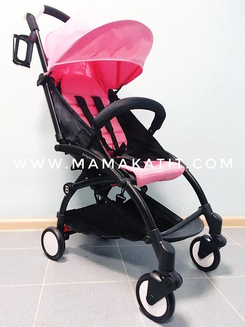 Коляска Babytime, розовая