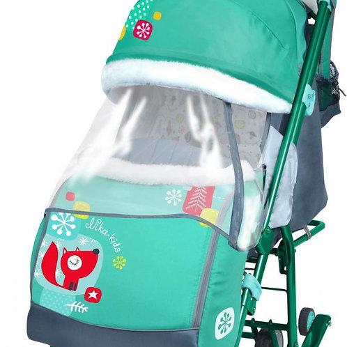 Санки-коляска Ника 7-2, зеленый