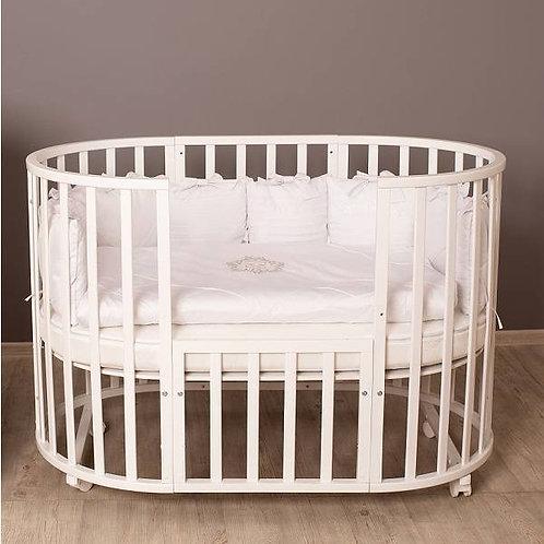 Кроватка Incanto Северная Звезда, белая