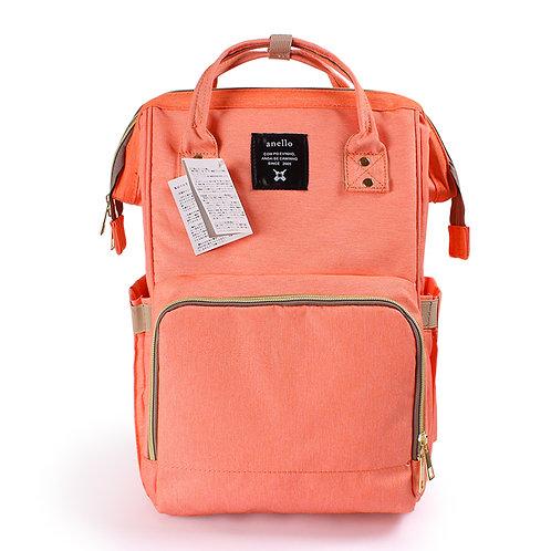 Рюкзак для мамы на коляску, персиковый