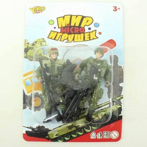 """Набор """"Армия"""", на блист. 13,5*20*3,5 см."""