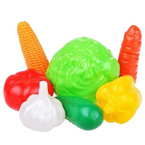 """Набор """"Овощи"""" (7 предметов в пакете), 23*10*20 см"""