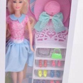 Кукла с аксессуарами в ассортименте, в/к 18*5,5*33 см.