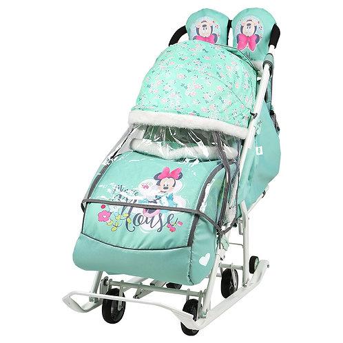 Санки-коляска Ника Disney Baby, Минни Маус