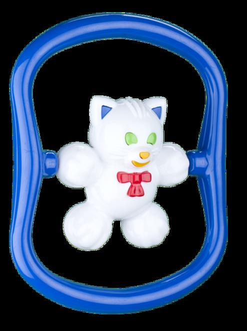 """Погремушка """"Котёнок Мяу"""", 12,2*23 см."""