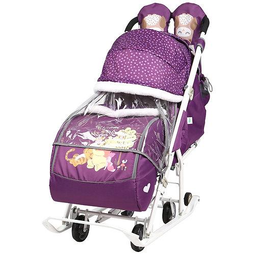 Санки-коляска Ника Disney Baby 2, Винни Пух