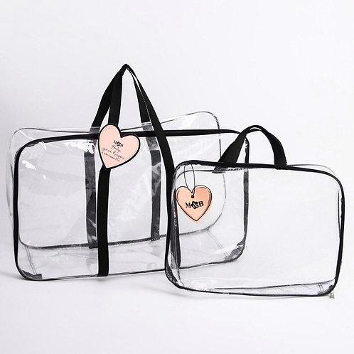 Комплект сумок в роддом 2 шт., черный