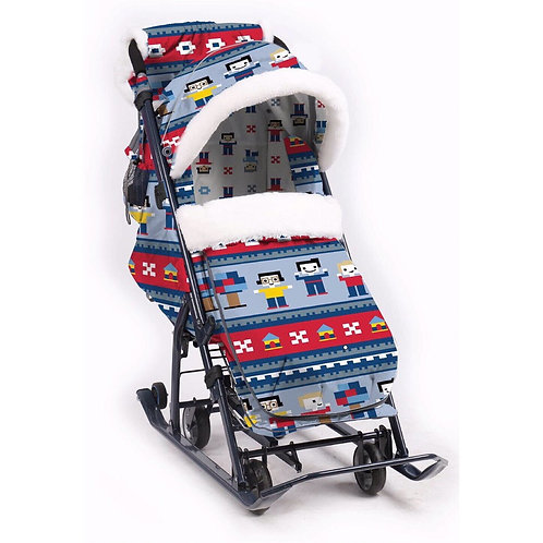 Санки-коляска Ника 7-5, лего