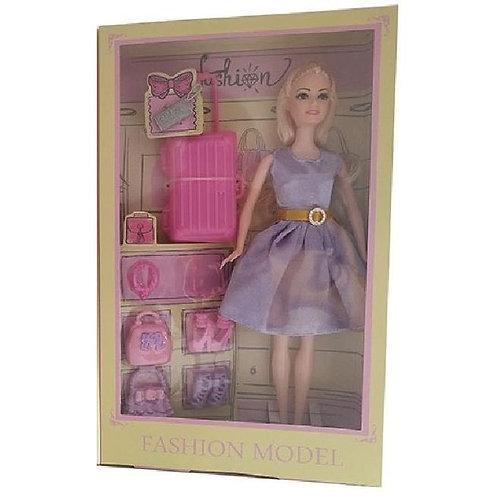 Кукла с аксессуарами, в/к 20*5,5*33 см.