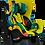 Thumbnail: Автокресло Farfello GE-B, желтый