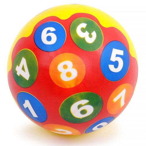"""Мяч детский """"Счёт"""" в/п диаметр 24 см."""