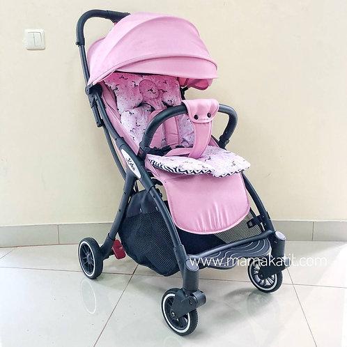 Коляска Keka Minica, розовая