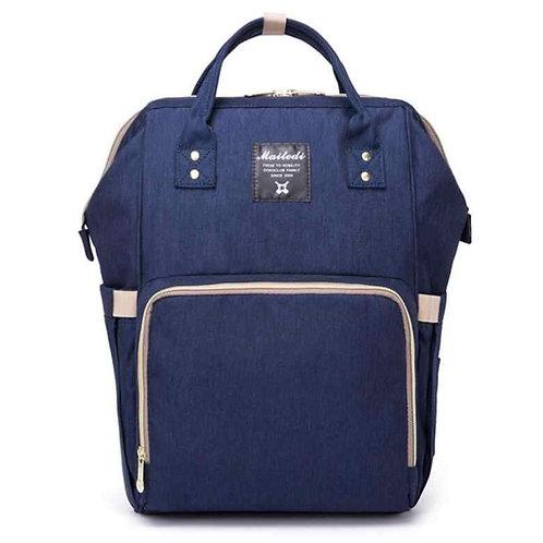 Рюкзак для мамы на коляску, синий