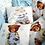 Thumbnail: Набор постельного белья 18 предметов (СОП/3) голубой медвежонок