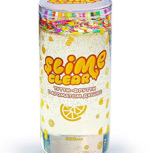 """Игрушка ТМ """"Slime"""" Clear-slime """"Тутти-фрутти"""" с ароматом  дюшес , 250 г. 6*6*12"""