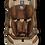 Thumbnail: Автокресло Farfello GE-E, бежево-коричневый велюр