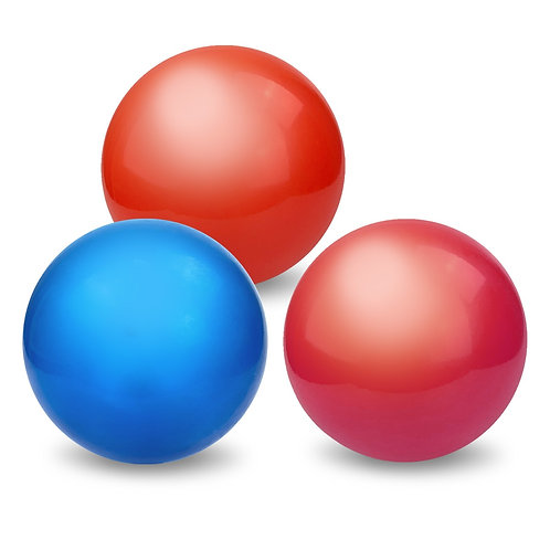 Мяч д. 200 мм. окрашенный, в сетке 20*20*20 см.