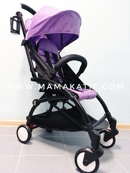 Коляска Babytime, фиолетовая