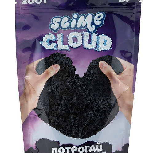 """Игрушка ТМ """"Slime"""" Cloud-slime Торнадо с ароматом личи, 200 г. 14,5*7*21 см."""