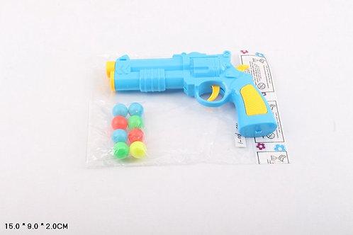 Пистолет стреляющий шариками, в/п 15*9*2 см.