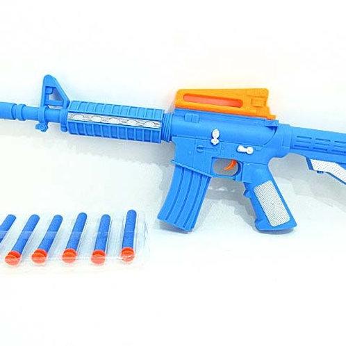 Автомат стреляет мягкими патронами, 42*19*3 см.