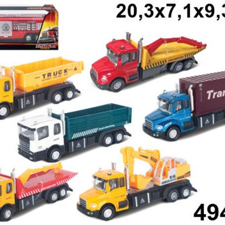 """Машинка """"Special Urban Truck"""", в ассортименте, 1:48, в/к 21*10*8 см"""
