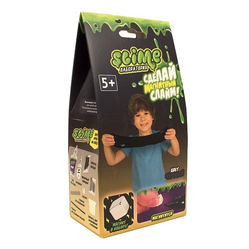 """Игрушка ТМ """"Slime"""" Малый набор для мальчиков """"Лаборатория"""", черный магнитный, 10"""