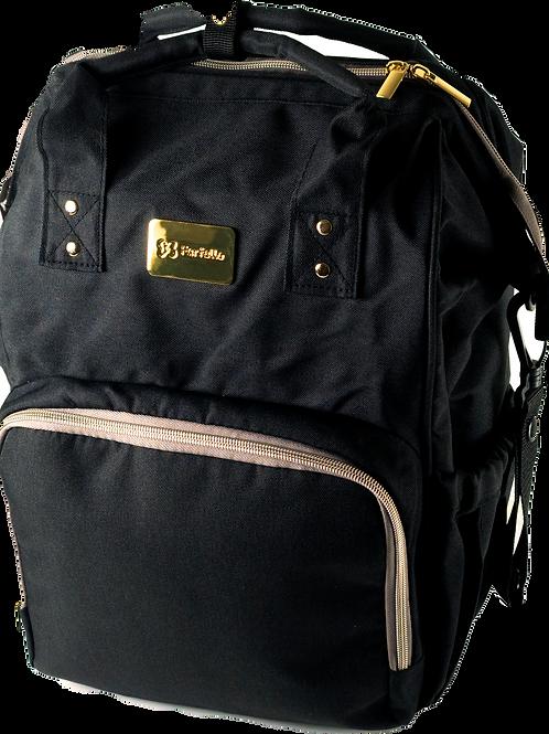Рюкзак для мамы на коляску Farfello F1, черный