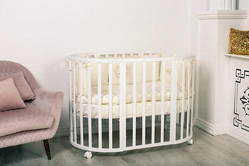 Кроватка Incanto Mimi 7 в 1, белый