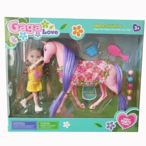 Кукла с лошадкой, в/к 29*8*24,5 см.