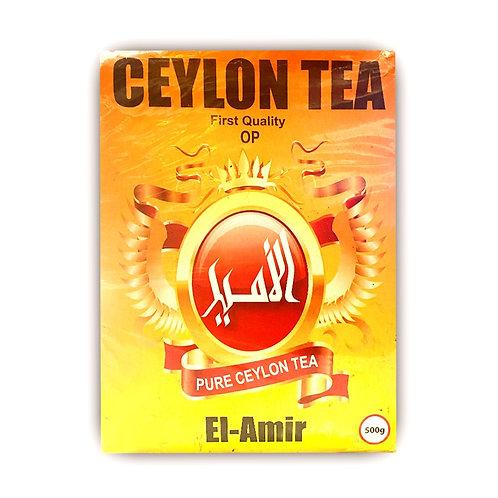 TÉ Negro CEYLON El-Amir 500 Grs
