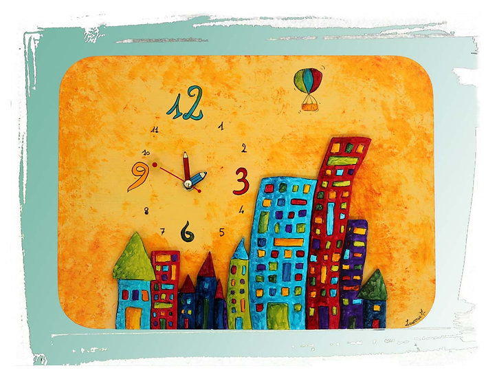 "Horloge ""city"""