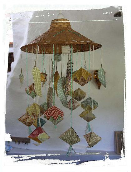 Plafonnier origami