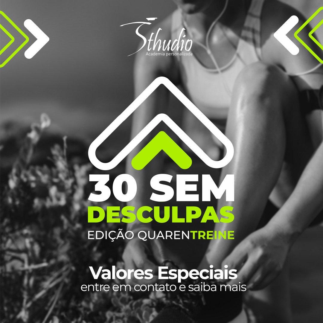 Desafio #30SemDesculpas (sábado)